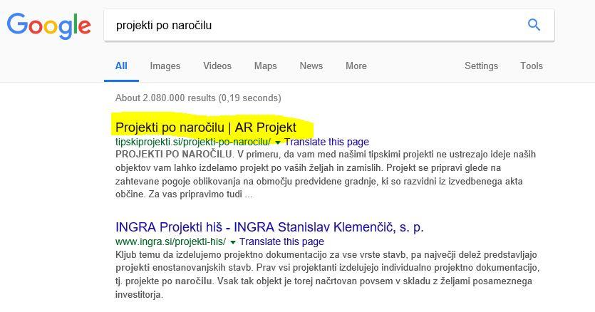 ADEBO reference AR Projekt google